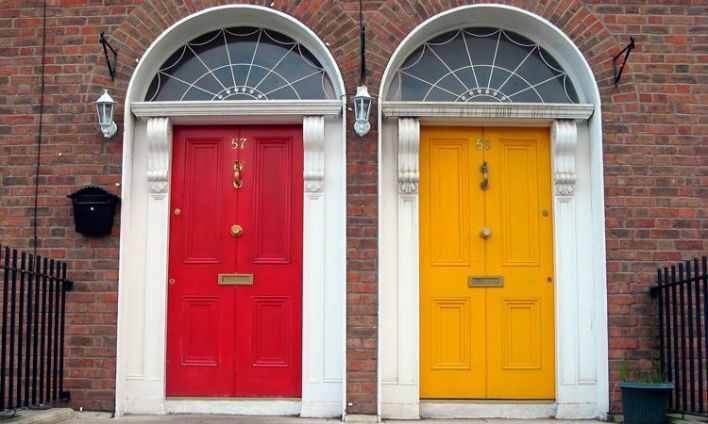 portas-coloridas-na-irlanda