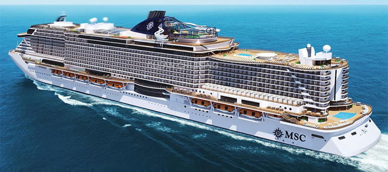 MSC Cruises ocean cruise ship